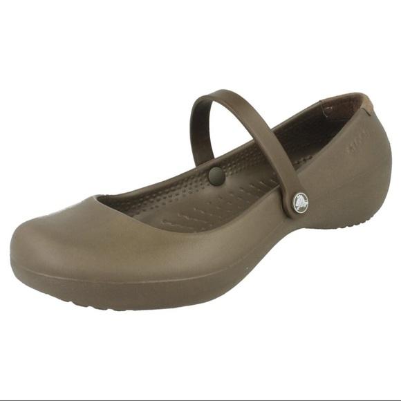 CROCS Shoes | 12 Alice Work Shoe Suede